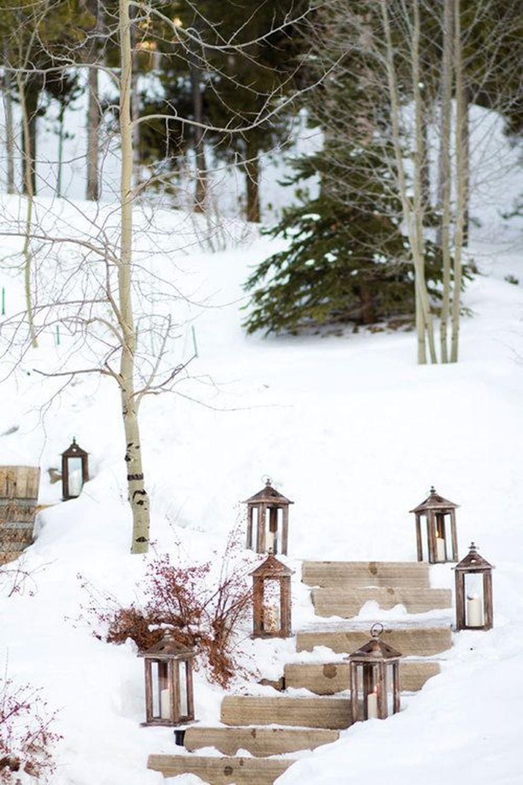 Amazing Winter Garden Landscape 31