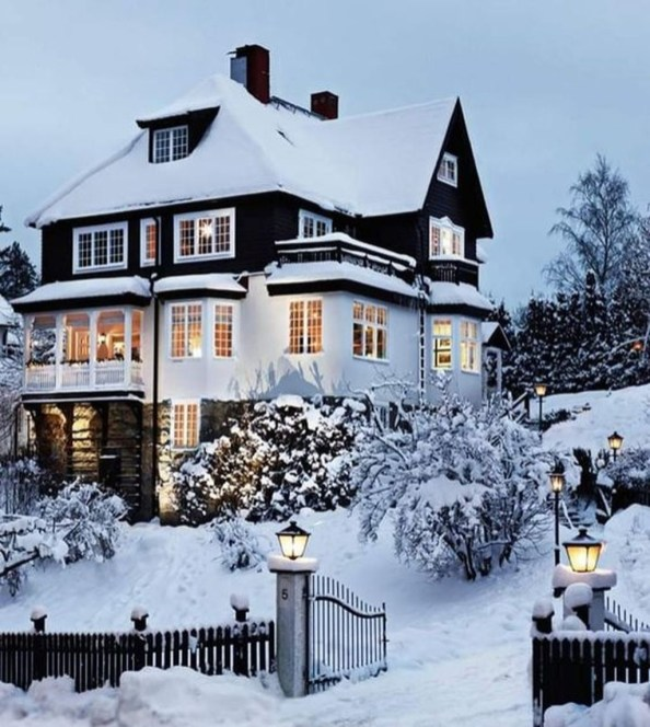 Amazing Winter Garden Landscape 41