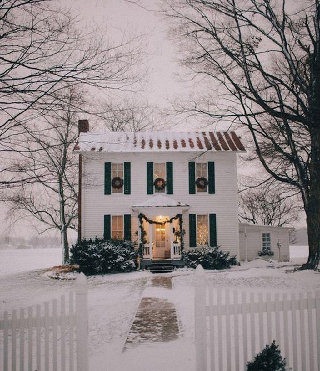 Amazing Winter Garden Landscape 49