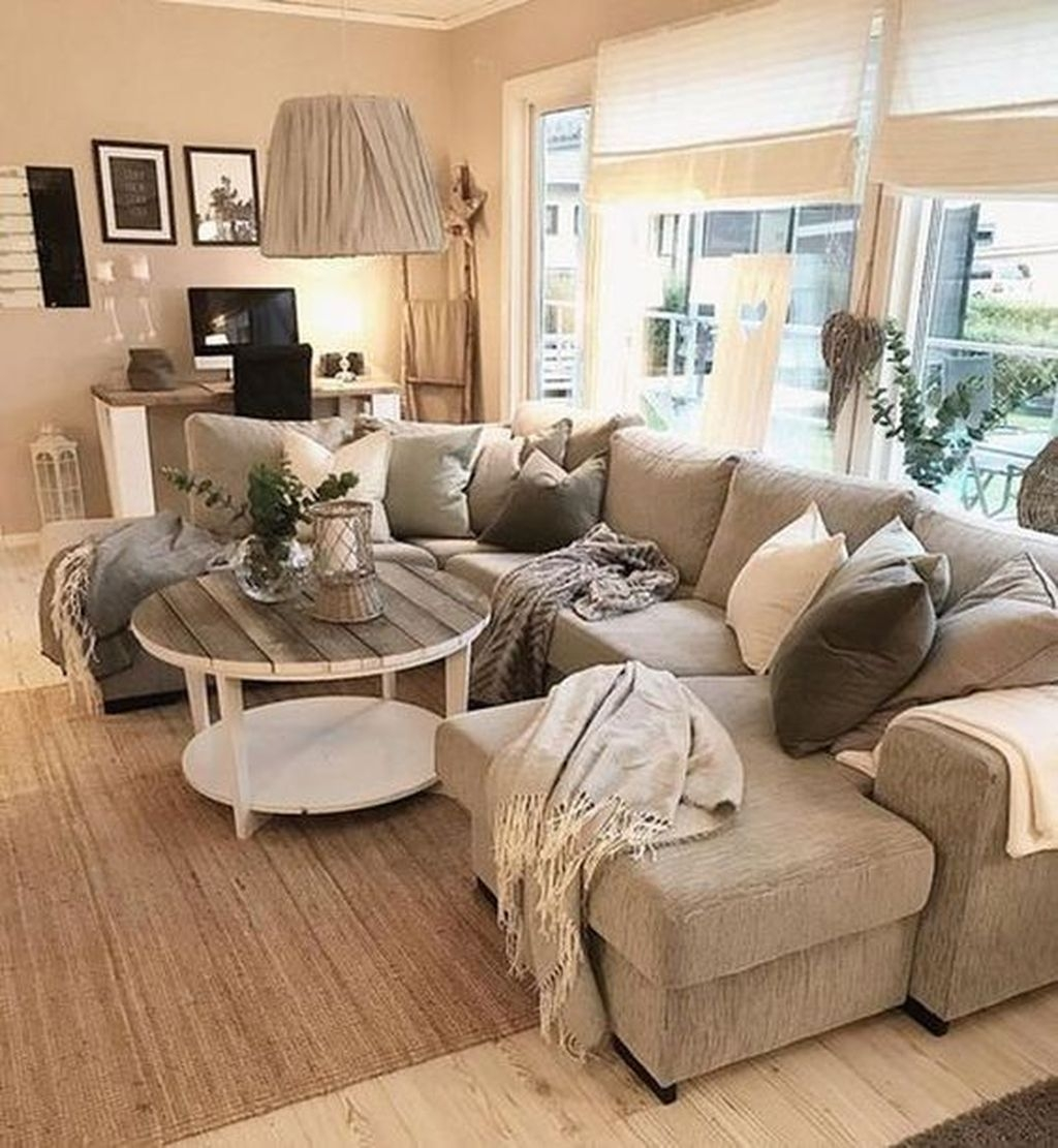 Awesome Winter Simple Living Room Decor Ideas You Must Try 41