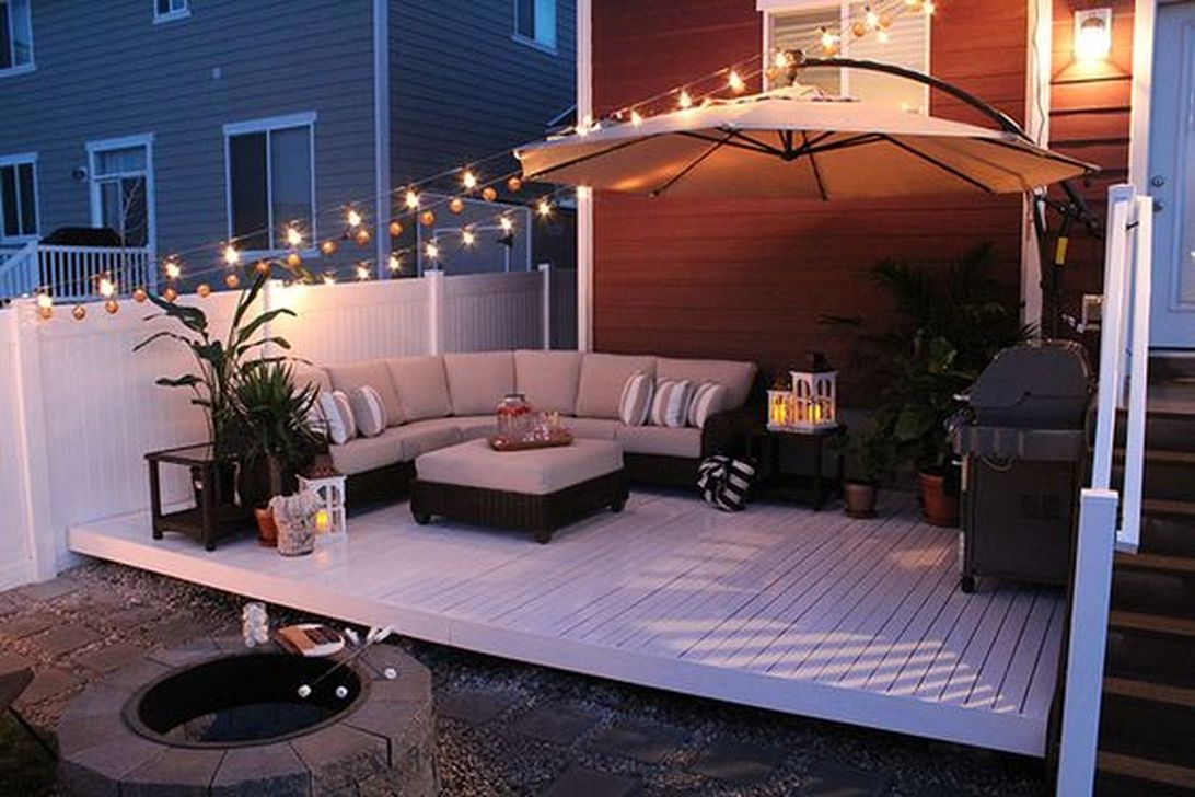 Beautiful Small Backyard Landscaping Ideas 33