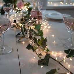 Popular Winter Dining Room Decorations On Your Table 01