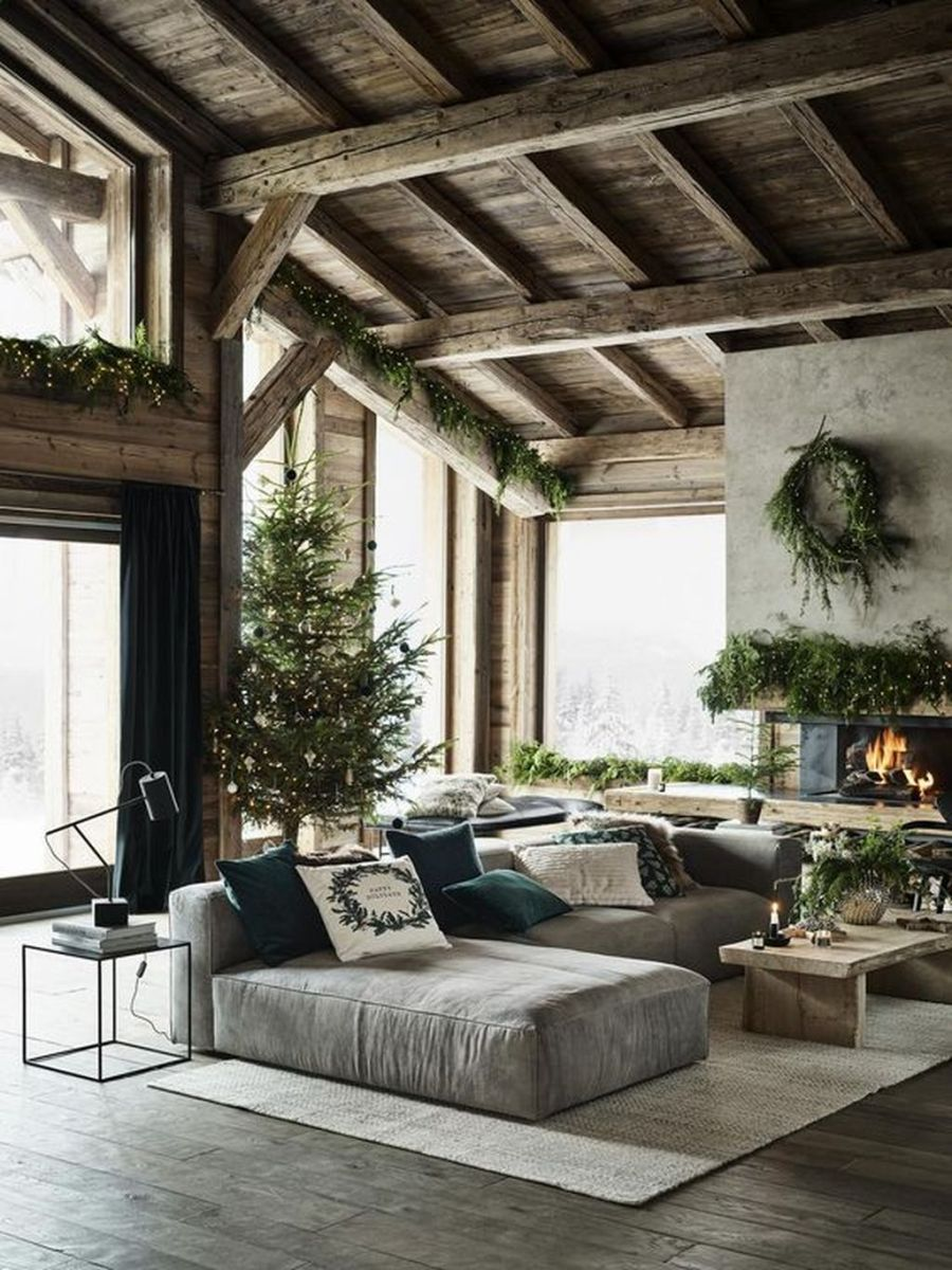 Stunning Winter Living Room Decor Ideas You Should Try 47