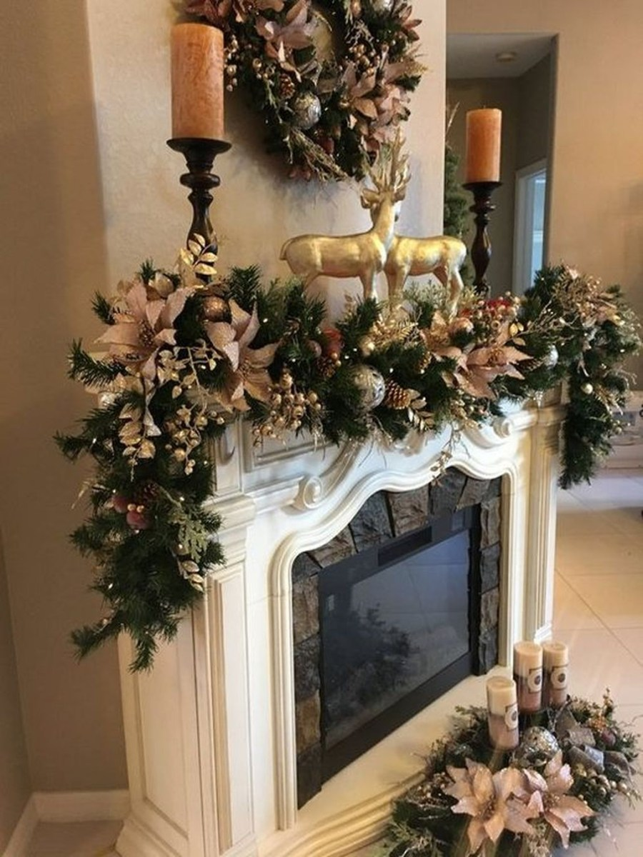 The Best Christmas Fireplace Decoration For Any Home Model 01
