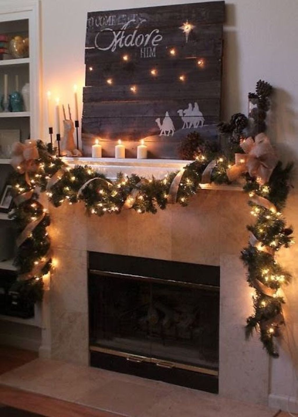 The Best Christmas Fireplace Decoration For Any Home Model 10