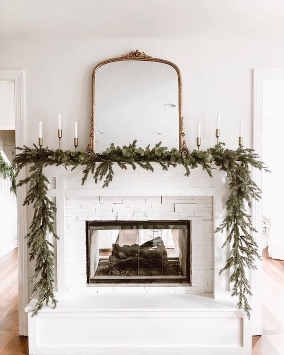 The Best Christmas Fireplace Decoration For Any Home Model 11