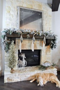 The Best Christmas Fireplace Decoration For Any Home Model 40