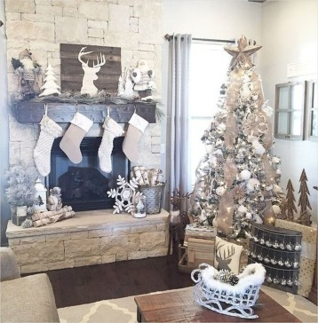 The Best Christmas Fireplace Decoration For Any Home Model 48