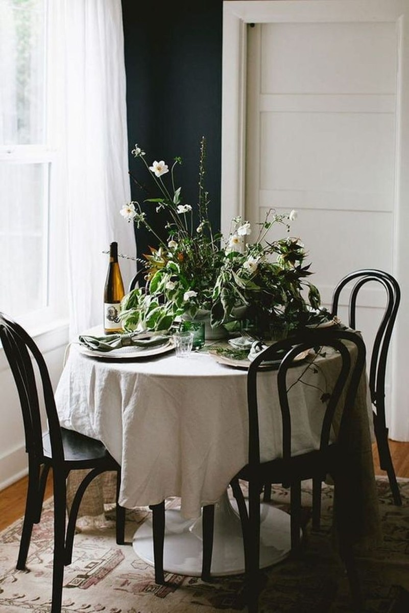 The Best Winter Dining Room Decorations 50