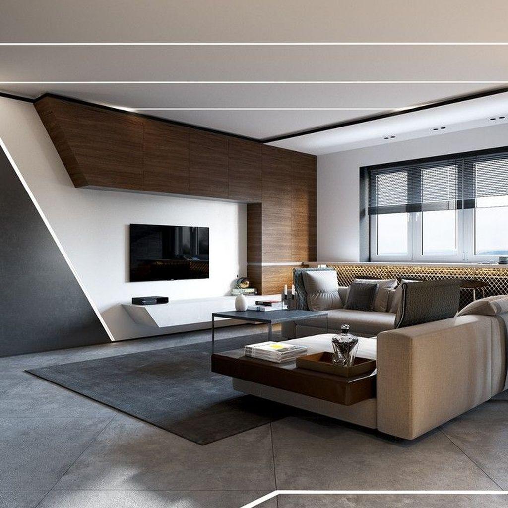 Amazing Modern Living Room Design Ideas 23