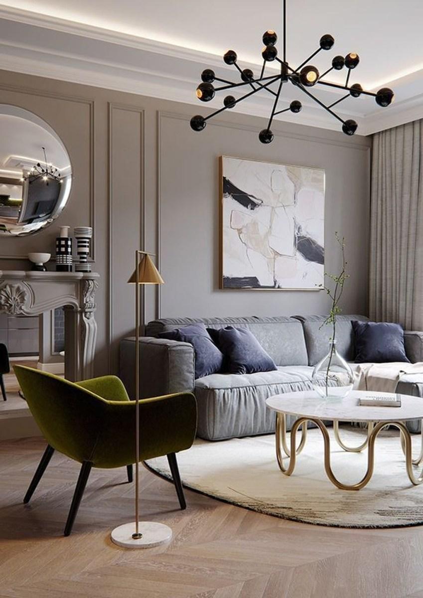 Amazing Modern Living Room Design Ideas 46