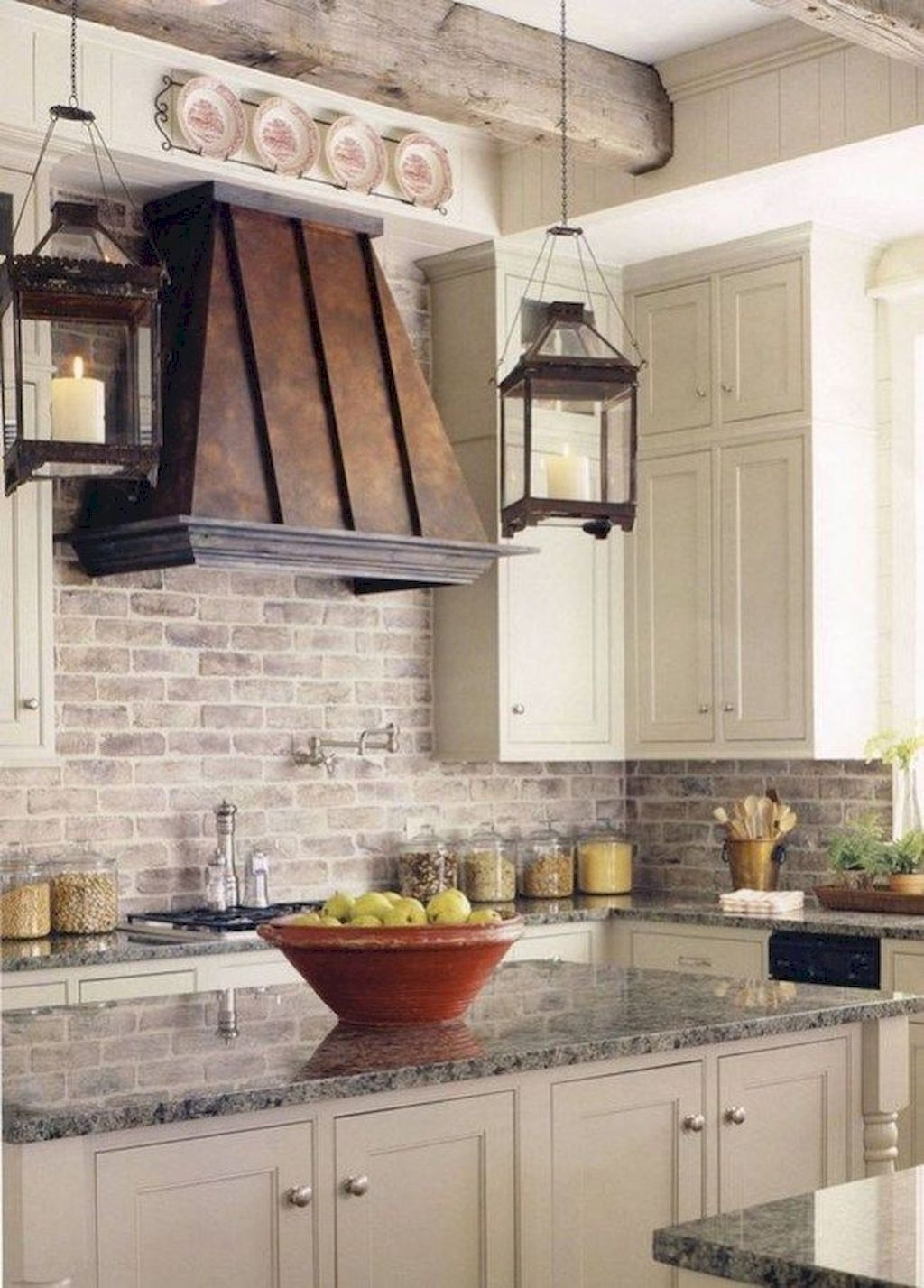 Amazing Remodeling Farmhouse Kitchen Decorations 15