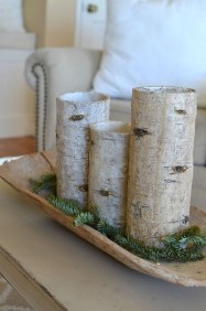 Applying Wooden Planks Correctly To Make Rustic Winter Home Decoration 31