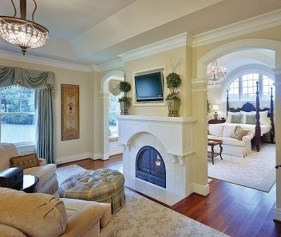 Awesome Fireplace Design Ideas For Small Houses 17
