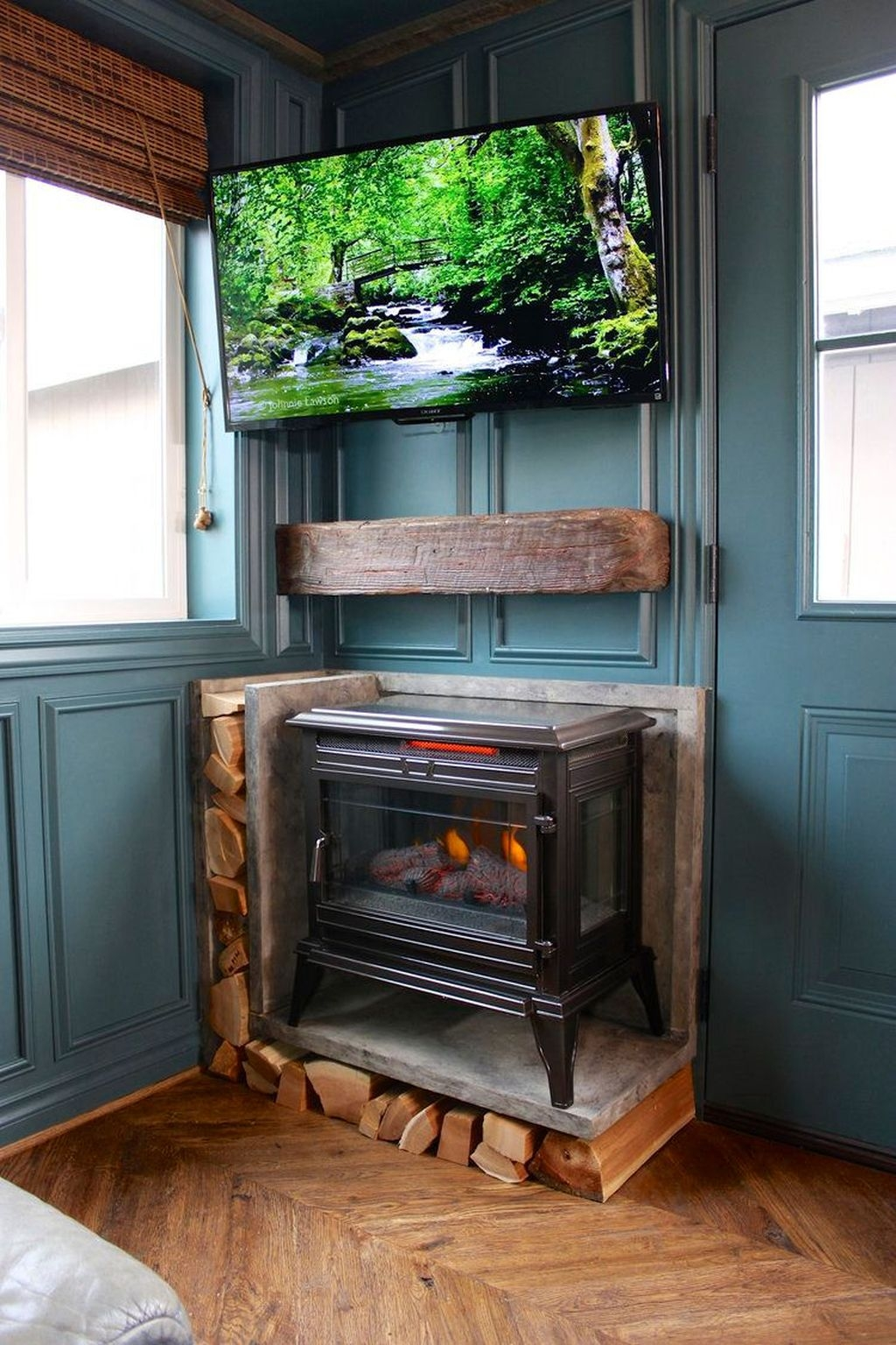 Awesome Fireplace Design Ideas For Small Houses 22