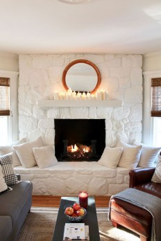 Awesome Fireplace Design Ideas For Small Houses 36
