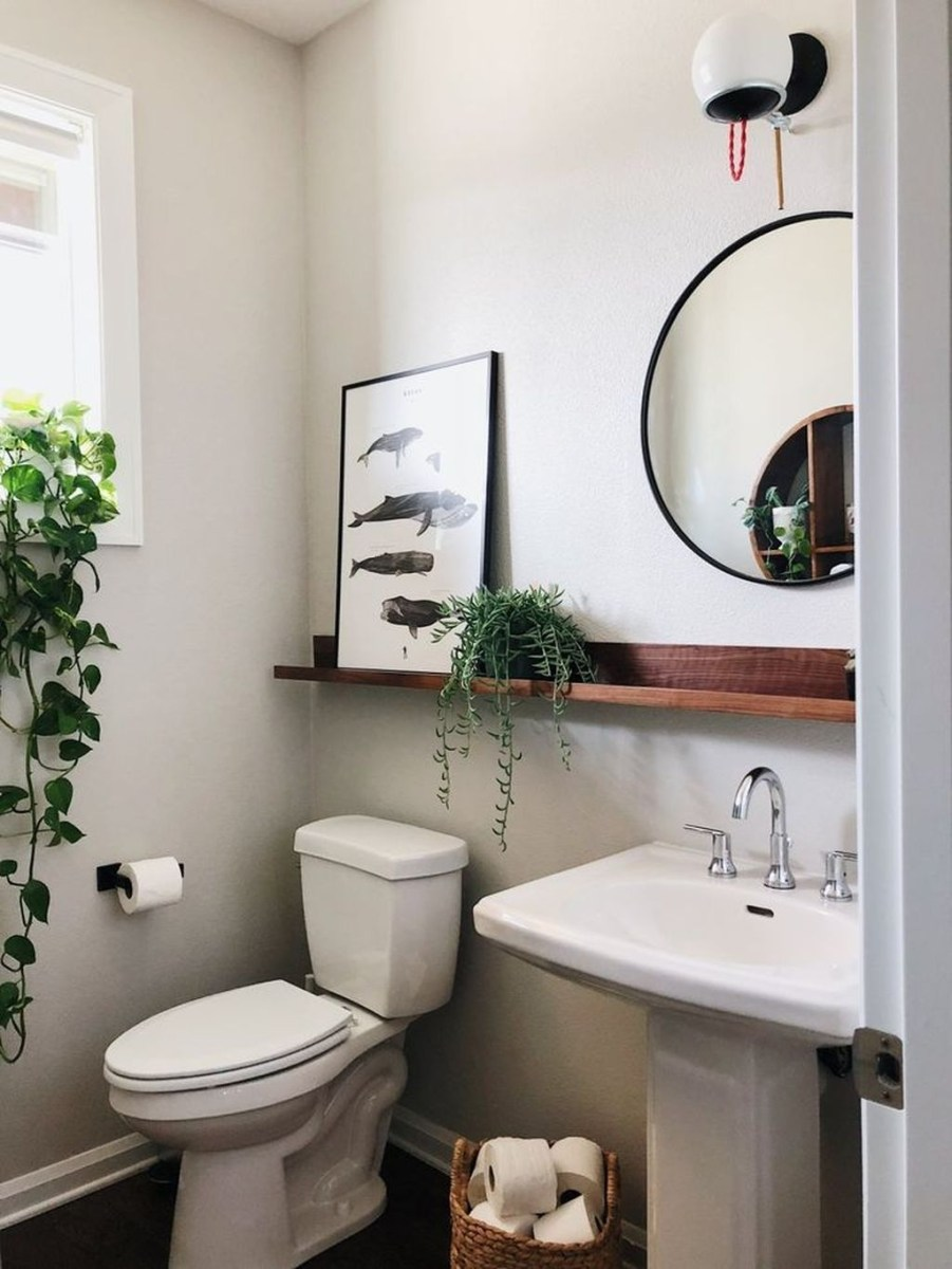 Awesome Winter Bathroom Decor You Need To Have 13