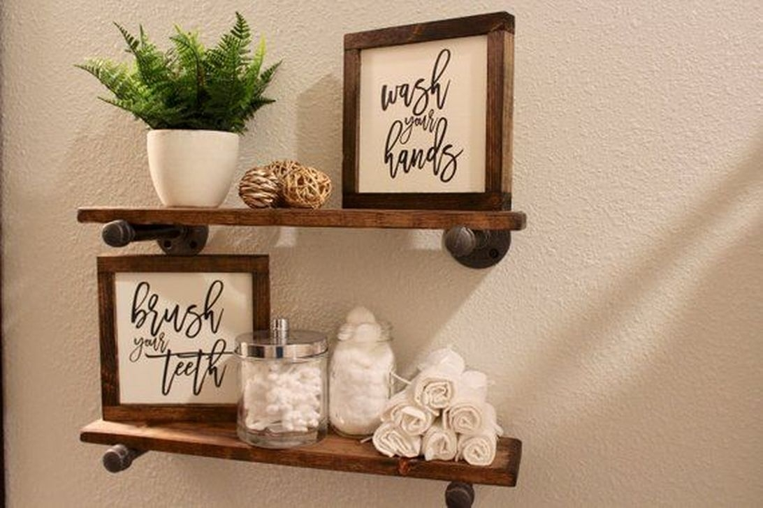 Awesome Winter Bathroom Decor You Need To Have 21