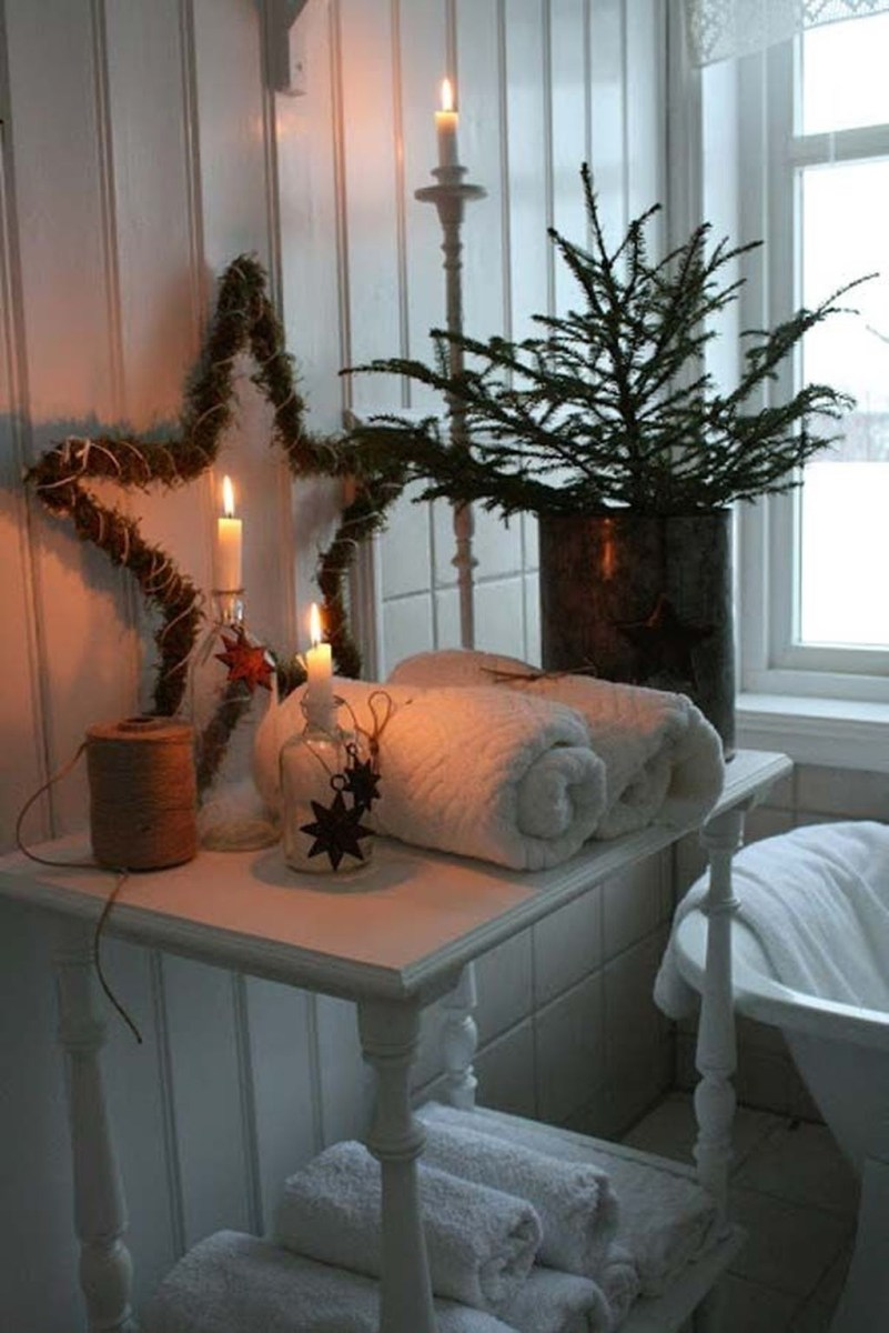 Awesome Winter Bathroom Decor You Need To Have 23