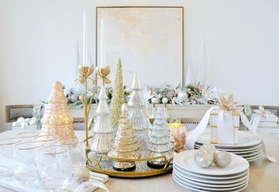 Beautiful Christmas Dining Room Decor Ideas Should You Apply This Winter 19