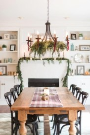Beautiful Christmas Dining Room Decor Ideas Should You Apply This Winter 22