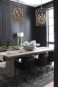 Beautiful Christmas Dining Room Decor Ideas Should You Apply This Winter 27