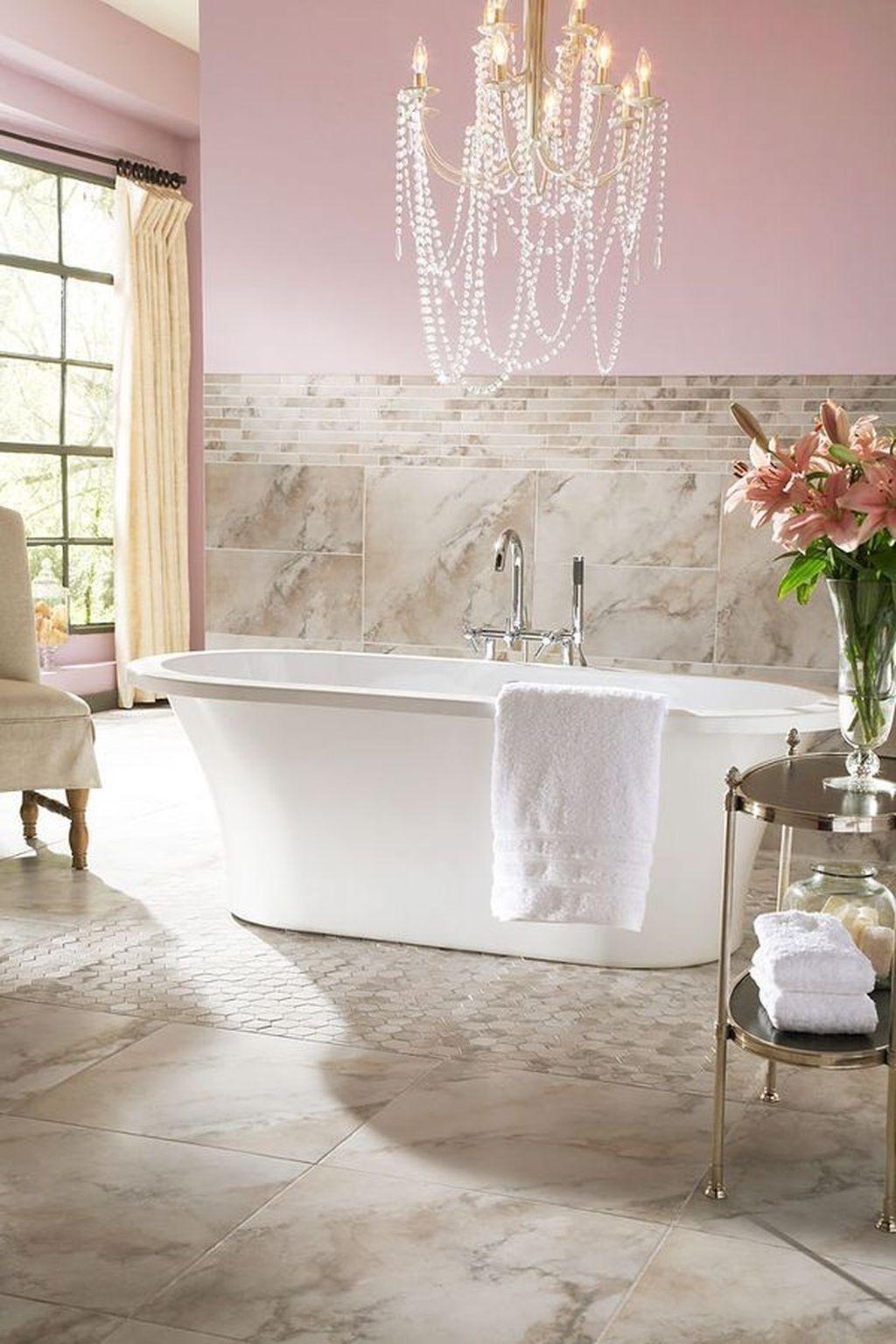 Beautiful Romantic Bathroom Decorations 02