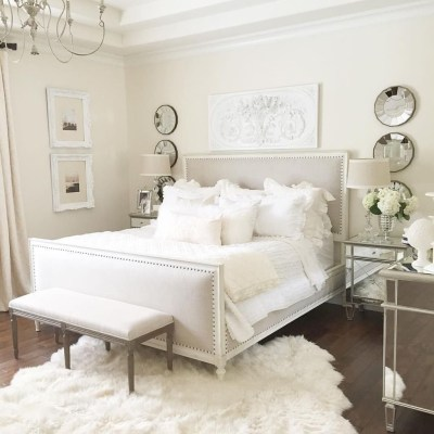 Beautiful White Bedroom Design Ideas 06
