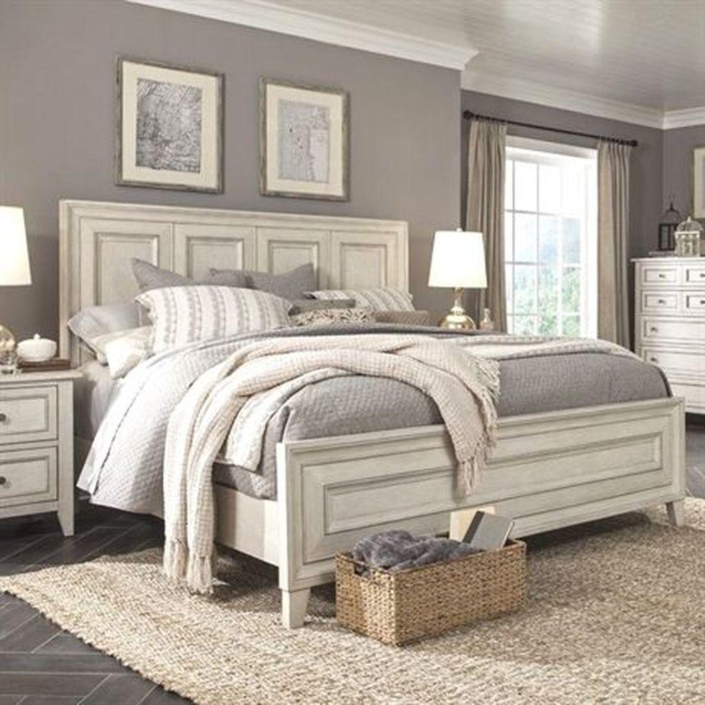 Beautiful White Bedroom Design Ideas 42