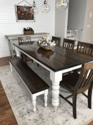 Choosing The Right Farmhouse Dining Room Table 41