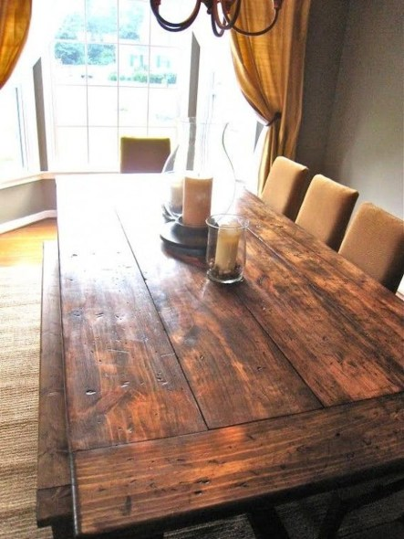 Choosing The Right Farmhouse Dining Room Table 45
