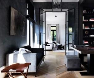 Modern Minimalist House Design In Black And White Color Scheme 02