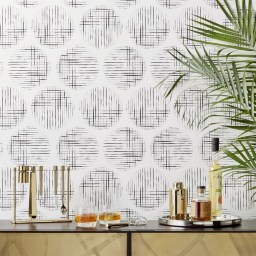 Modern Minimalist House Design In Black And White Color Scheme 07