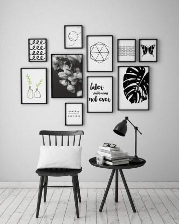 Modern Minimalist House Design In Black And White Color Scheme 28