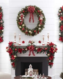 Nice Mantel Decorations Best For Winter 05