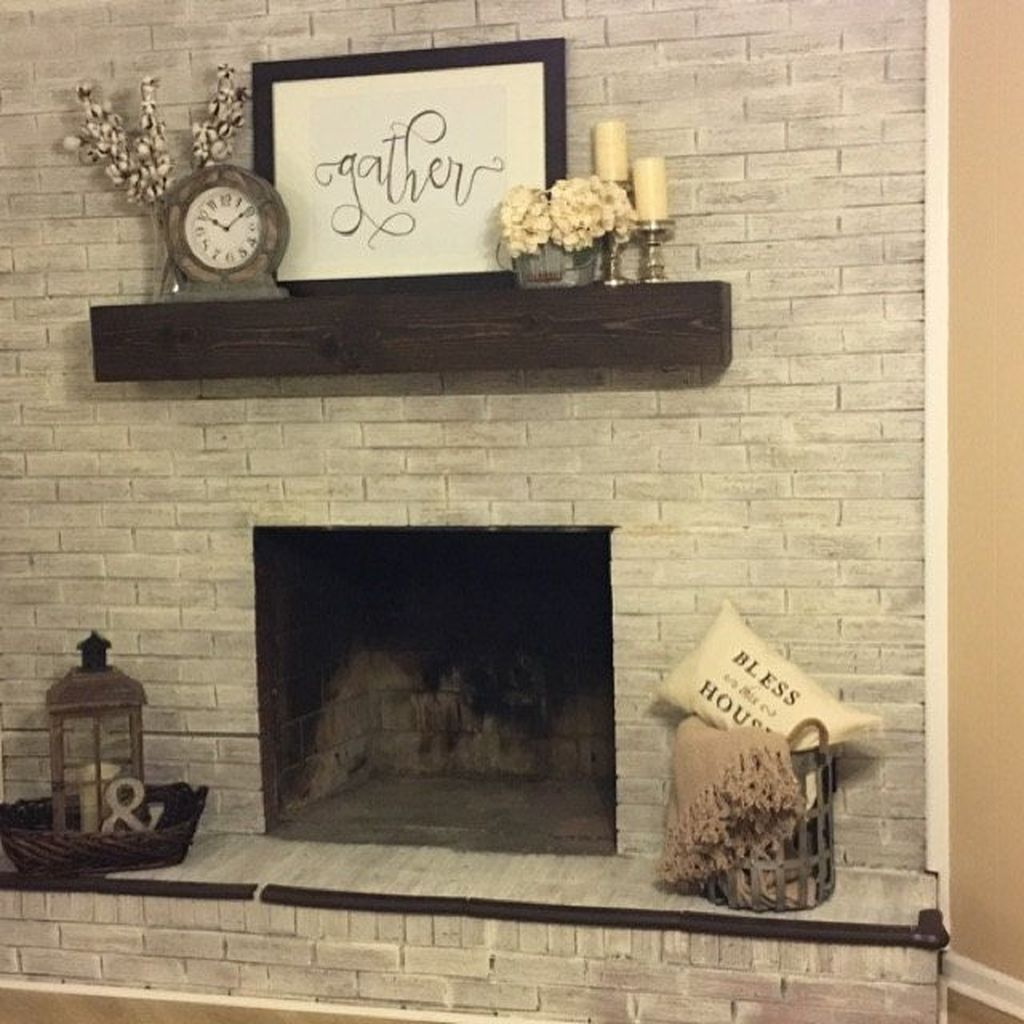 Nice Mantel Decorations Best For Winter 32