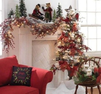 Nice Mantel Decorations Best For Winter 36