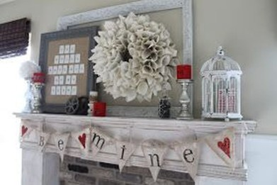 Nice Mantel Decorations Best For Winter 41