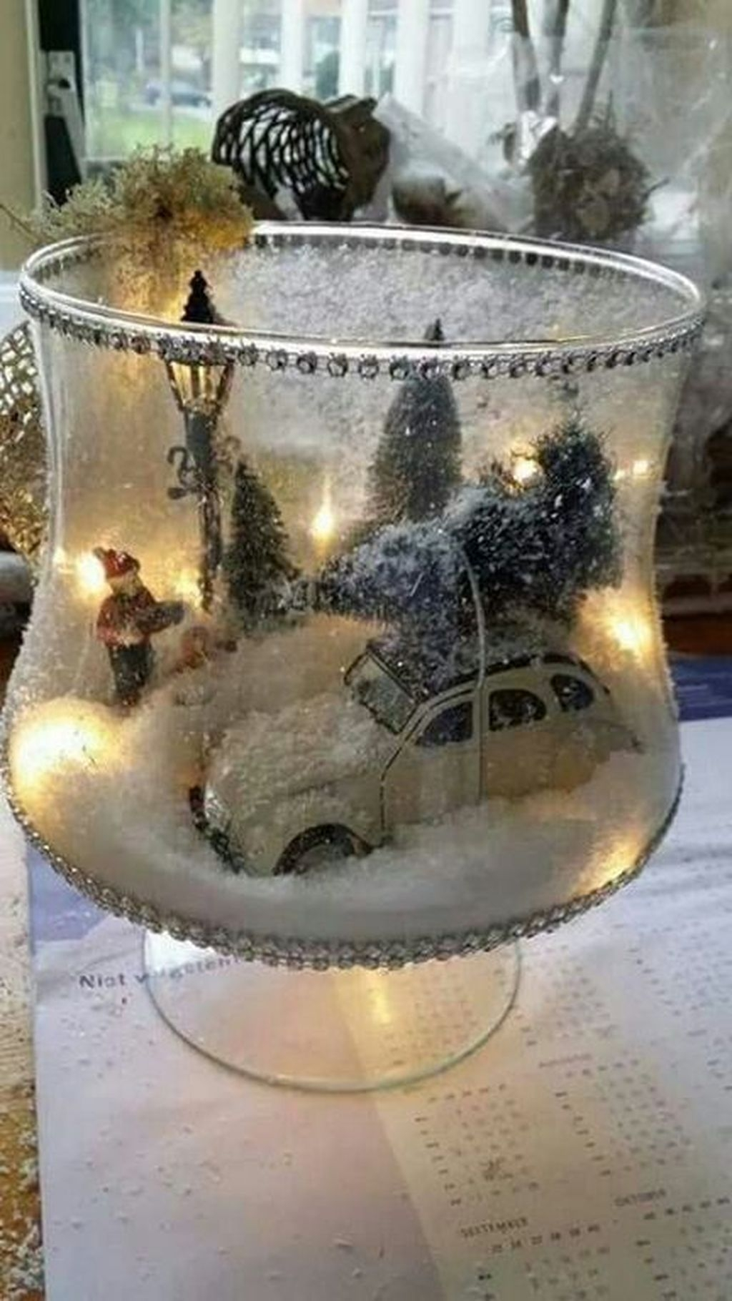 Perfect Ideas To Have Great Vintage Christmas Decoration 41