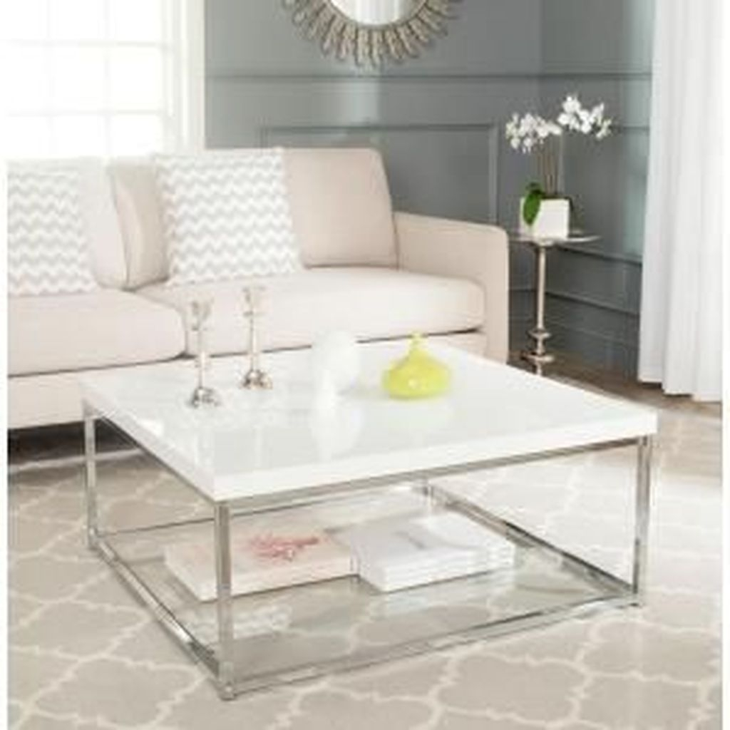 Popular Modern Coffee Table Ideas For Living Room 01