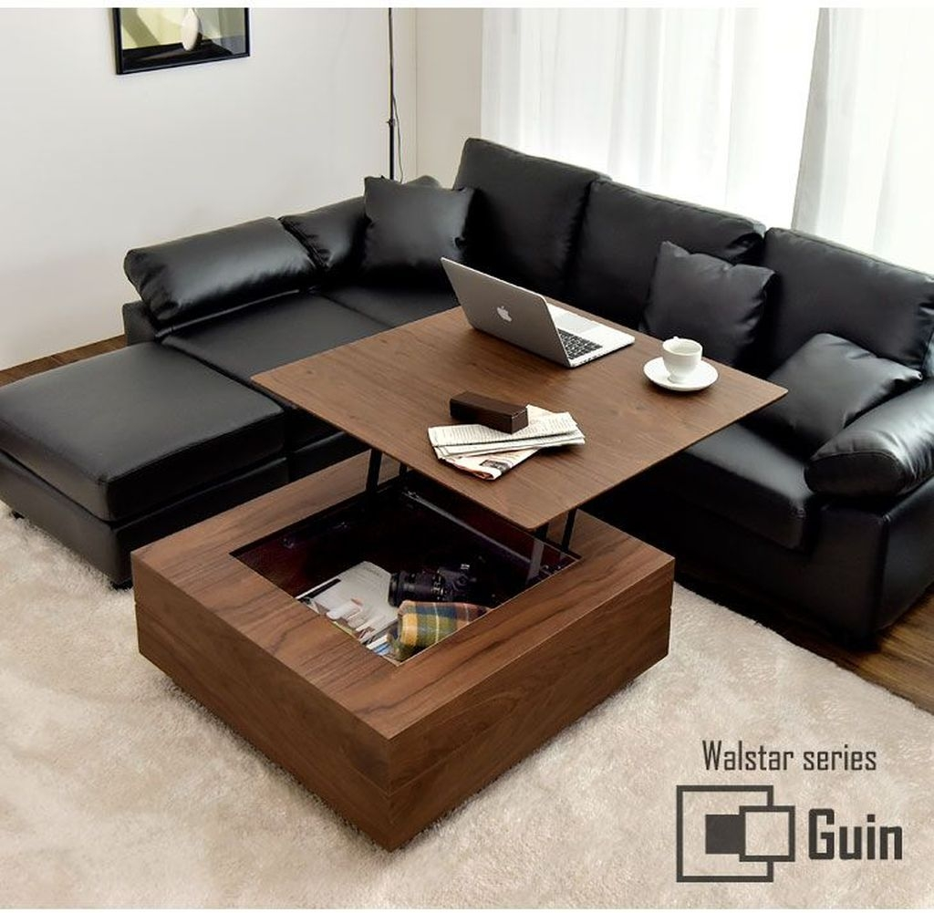 Popular Modern Coffee Table Ideas For Living Room 17