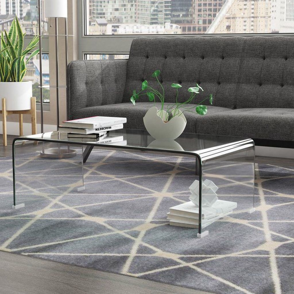 Popular Modern Coffee Table Ideas For Living Room 38