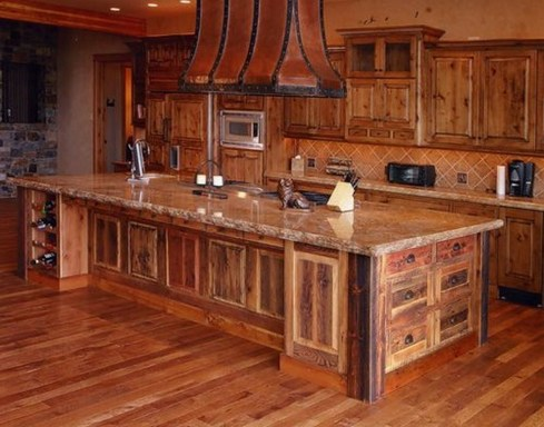 Popular Rustic Kitchen Cabinet Should You Love 01