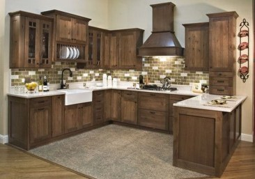 Popular Rustic Kitchen Cabinet Should You Love 04