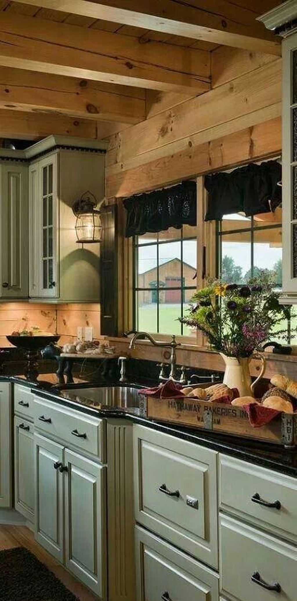 Popular Rustic Kitchen Cabinet Should You Love 13