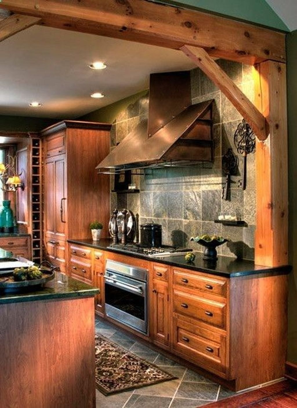 Popular Rustic Kitchen Cabinet Should You Love 15