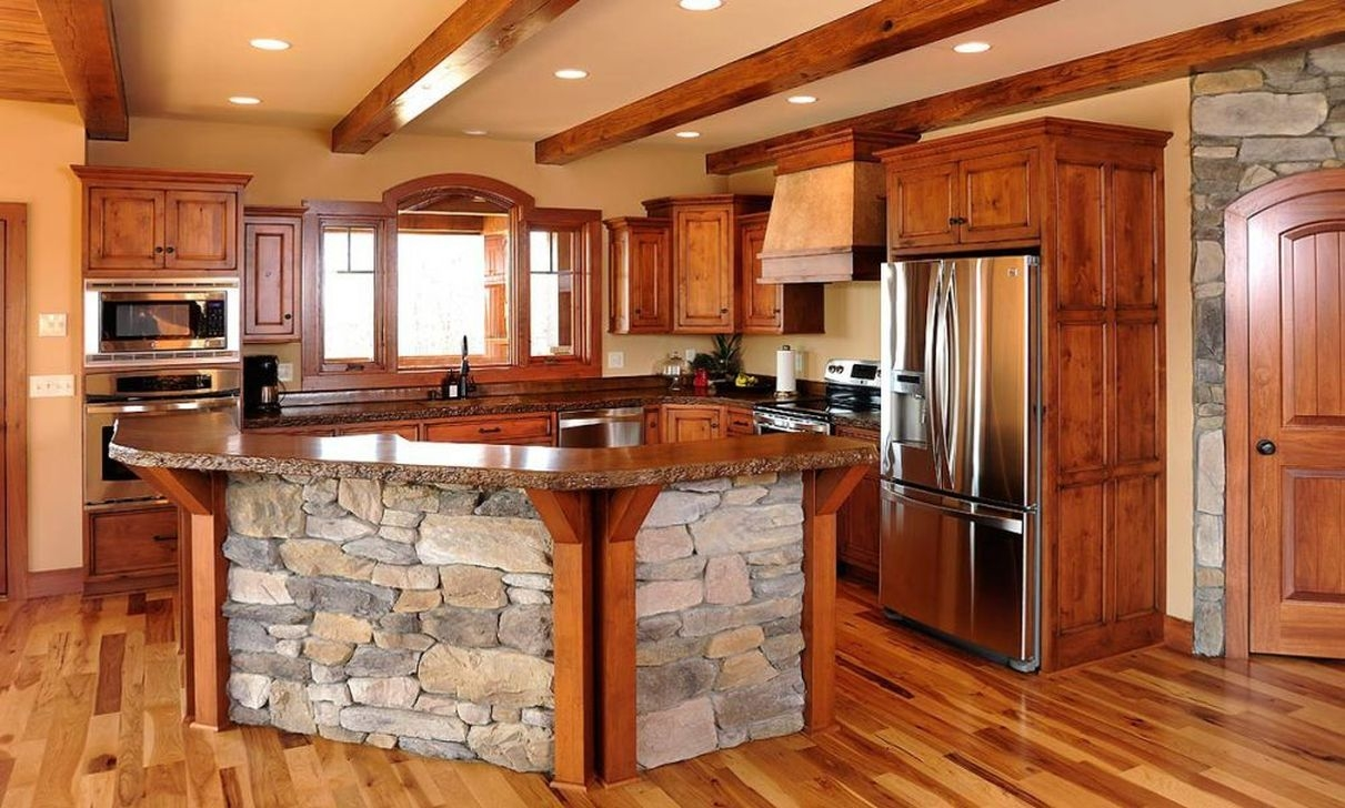 Popular Rustic Kitchen Cabinet Should You Love 24