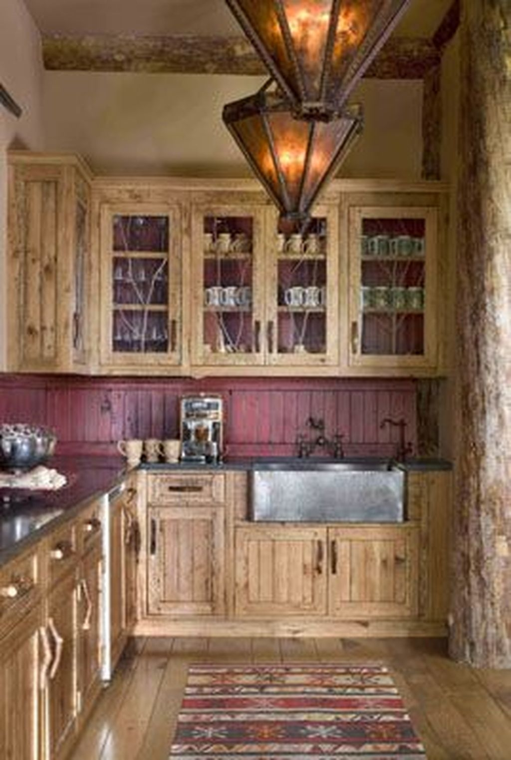Popular Rustic Kitchen Cabinet Should You Love 32