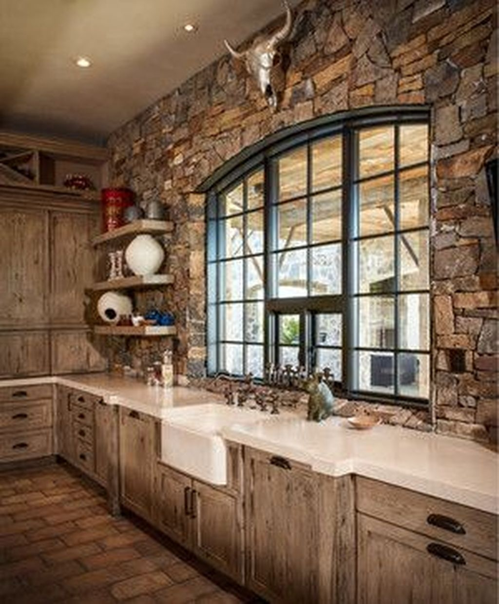 Popular Rustic Kitchen Cabinet Should You Love 45
