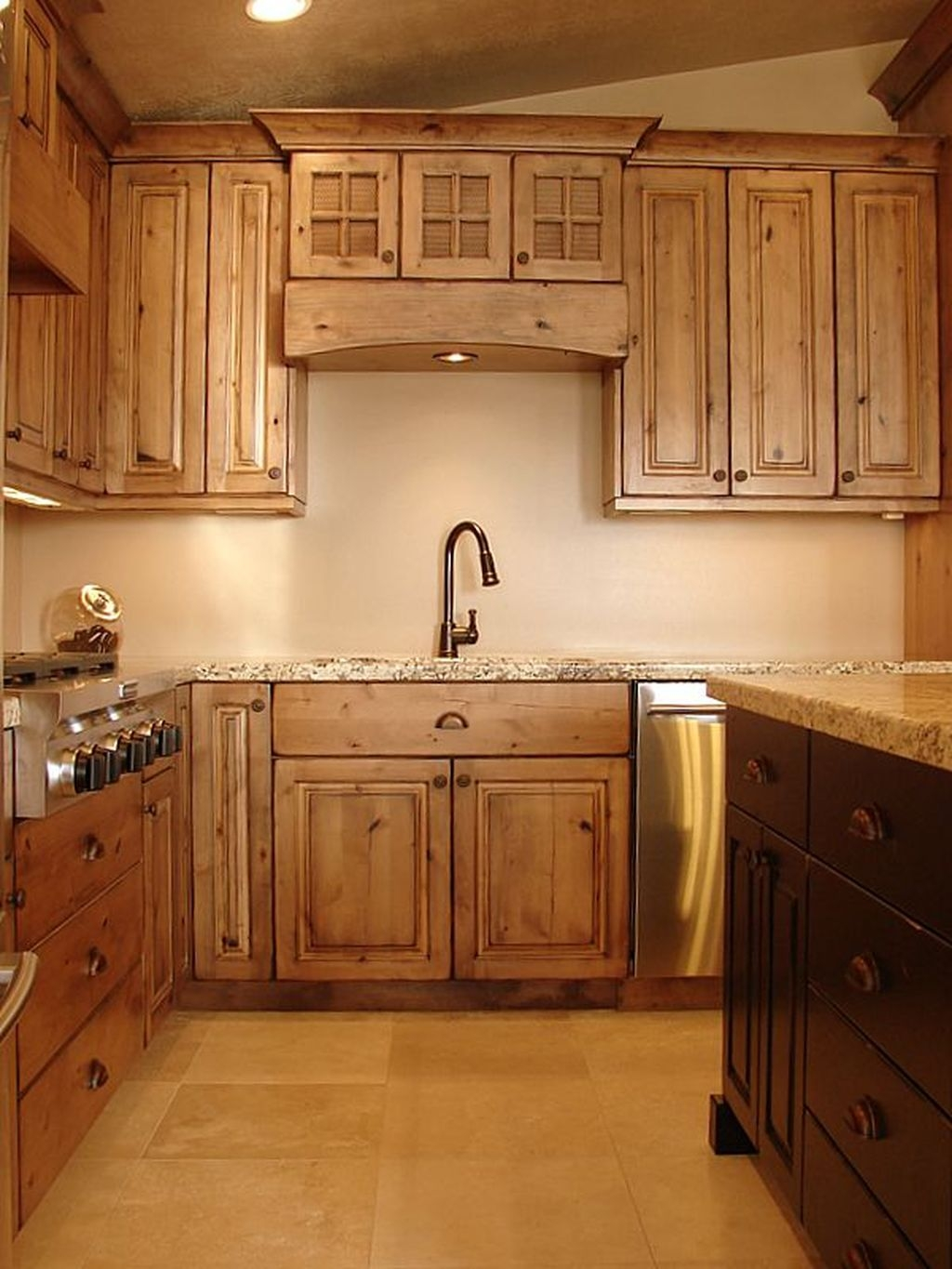 Popular Rustic Kitchen Cabinet Should You Love 49